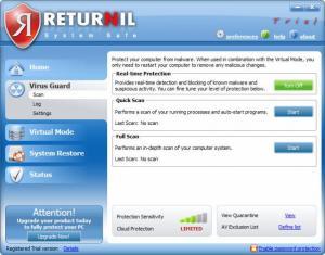 Enlarge Returnil System Safe Pro Screenshot