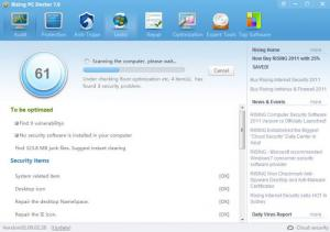 Enlarge Rising PC Doctor Screenshot