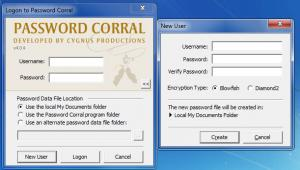 Enlarge Password  Corral Screenshot