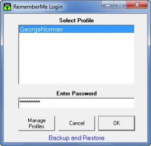 Enlarge RememberMe Screenshot