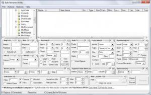 Enlarge Bulk Rename Utility Screenshot