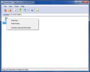 Enlarge HidesFiles Screenshot