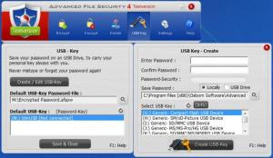 Enlarge Advanced File  Security Screenshot