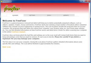 Enlarge FreeFixer Screenshot
