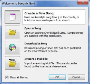Enlarge Songtrix Gold Screenshot