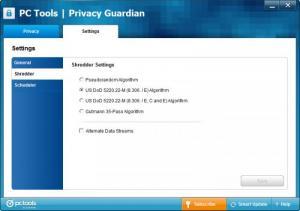 Enlarge Privacy  Guardian Screenshot