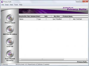 Enlarge CyberScrub Privacy Suite Screenshot