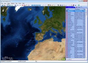 Enlarge Earth Explorer Screenshot