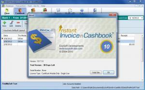 Enlarge Instant CashBook Screenshot