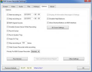 Enlarge BSR Screen Recorder Screenshot
