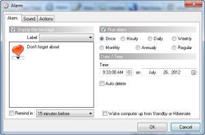 Enlarge Weather Clock Screenshot