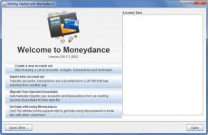 Enlarge Moneydance Screenshot