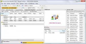Enlarge Personal Stock Monitor  GOLD Screenshot