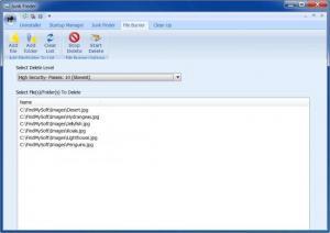 Enlarge Cleanse Uninstaller Pro Screenshot