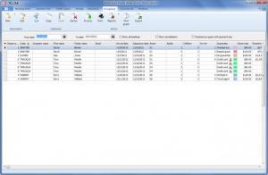 Enlarge Reservation  Master Screenshot