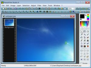 Enlarge Photofiltre Studio X Screenshot