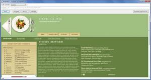 Enlarge Recipe4win Screenshot