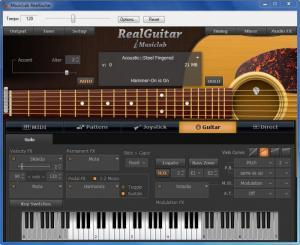 Enlarge RealGuitar Screenshot