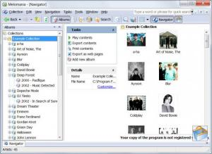 Enlarge Melomania Screenshot