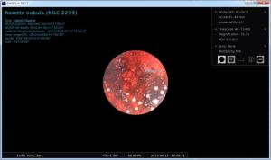 Enlarge Stellarium Screenshot