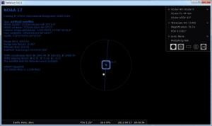 Enlarge Stellarium Screenshot