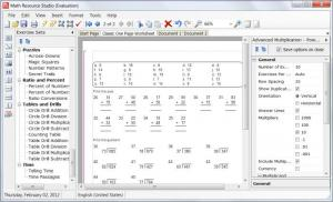 Enlarge Math Resource Studio Screenshot
