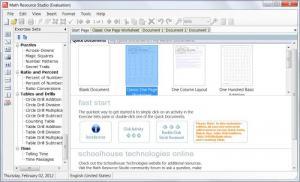 Enlarge Math Resource Studio Screenshot