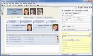 Enlarge Family  Historian Screenshot