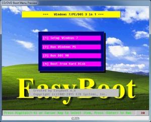 Enlarge EasyBoot Screenshot