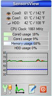 Enlarge SensorsView Pro Screenshot