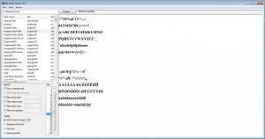 Enlarge dp4 Font  Viewer Screenshot