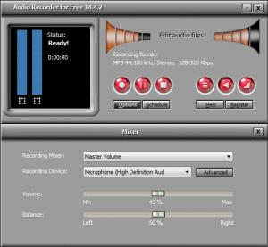 Enlarge Audio Recorder for Free Screenshot