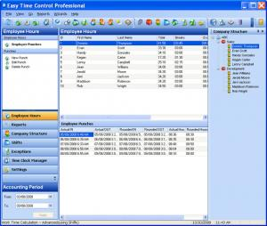 Enlarge Easy Time Control Professional Screenshot