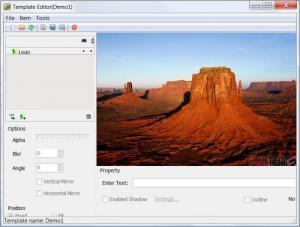 Enlarge Batch Watermark Creator Screenshot