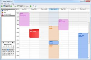 Enlarge MonoCalendar Screenshot