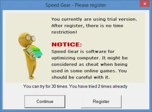 Enlarge Speed Gear Screenshot