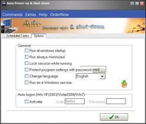 Enlarge Auto Power-on & Shut-down Screenshot