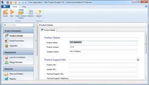 Enlarge Advanced Installer Screenshot