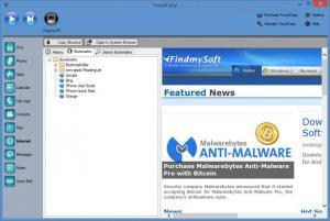 Enlarge TouchCopy Screenshot