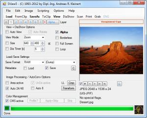 Enlarge SView5 Screenshot