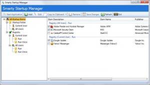 Enlarge Smarty Uninstaller Screenshot