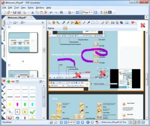 Enlarge PDF Annotator Screenshot
