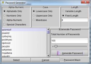 Enlarge Password Dragon Screenshot