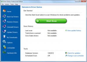 Enlarge Driver Genius Screenshot