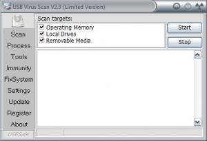 Enlarge USB Virus Scan Screenshot