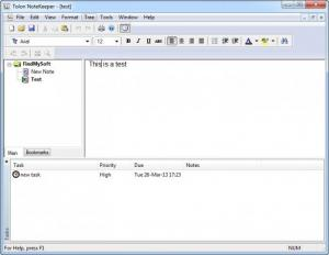 Enlarge Tolon NoteKeeper Screenshot