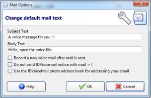 Enlarge JDVoiceMail Screenshot