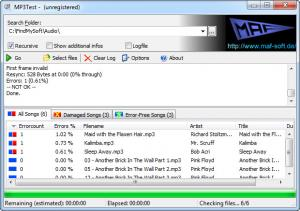 Enlarge MP3Test Screenshot