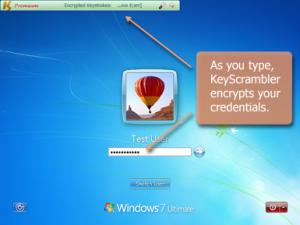 Enlarge KeyScrambler Premium Screenshot