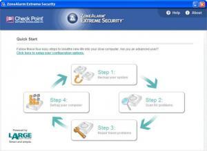 Enlarge ZoneAlarm Extreme Security Screenshot